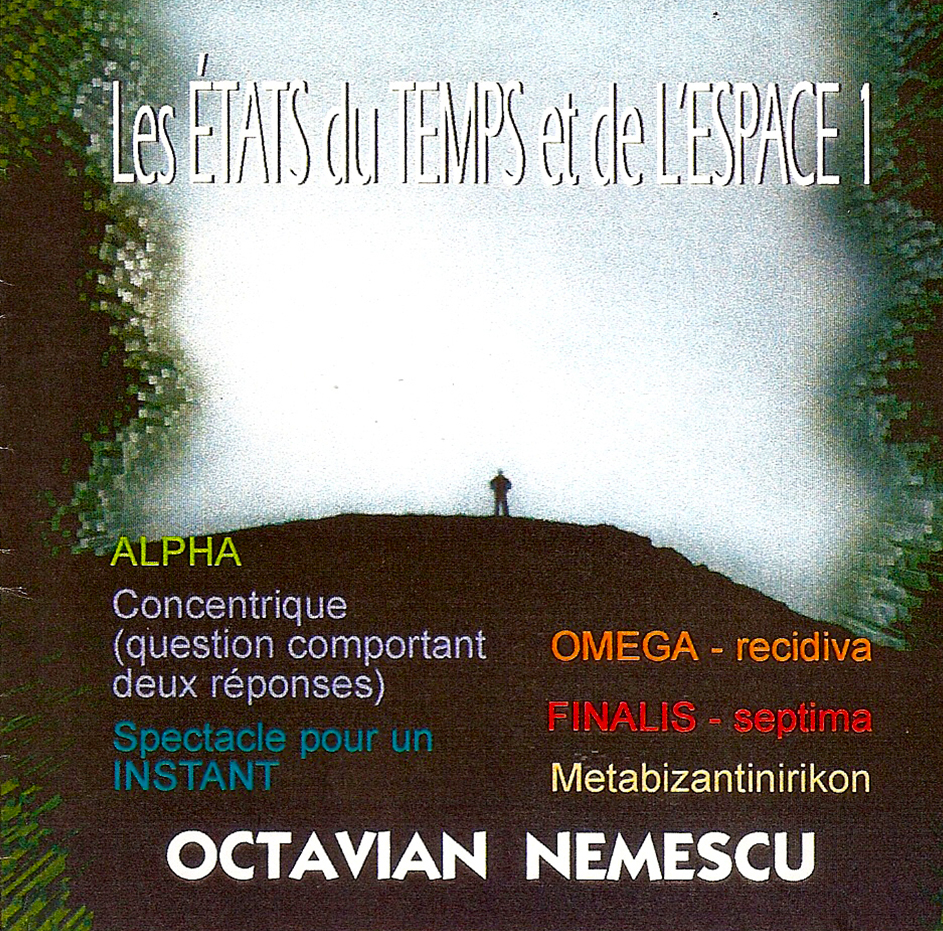 cd 3 Les etats du Temps et de l'Espace 1 – A