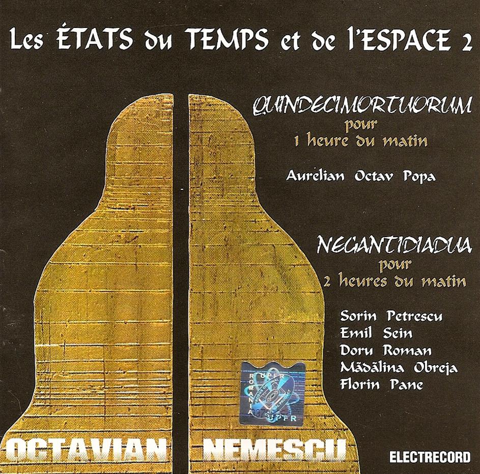 cd 4 Les Etats du Temps et de l'Espace 2 – A