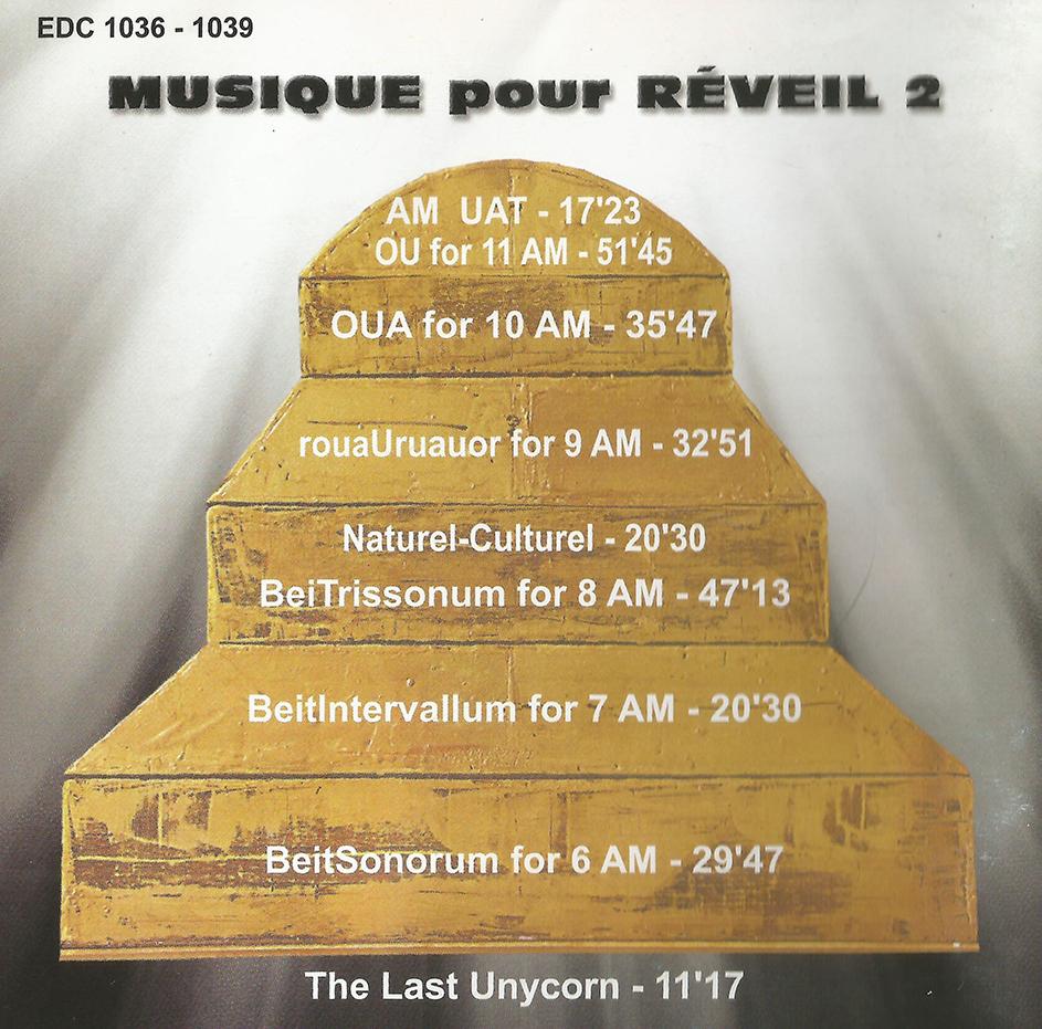 cd 6 Musique pour Reveil 2-02A