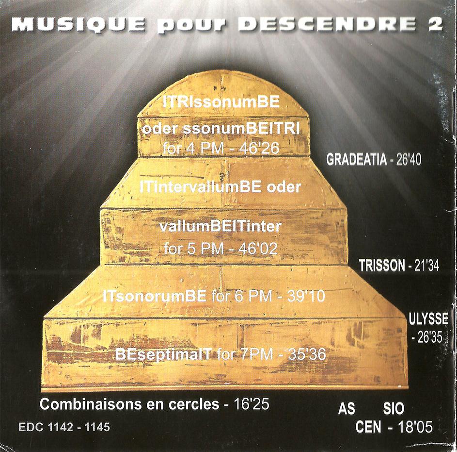 cd 8 Musique pour descendre 2 -02A